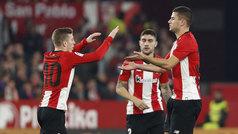 Copa del Rey (octavos, vuelta): Resumen y gol del Sevilla 0-1 Athletic