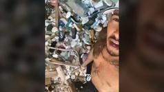 """""""Hamilton, vacaciones recogiendo basura"""""""