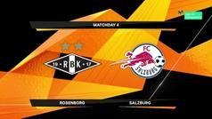 Europa League (J4): Resumen y goles del Rosenborg 2-5 RB Salzburgo