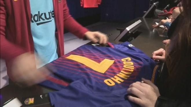 FC Barcelona  ¿Qué dorsal lucirá Coutinho en el Barça   51ba63fc93e