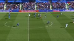 Gol de Oro (J23): Gol de Jorge Molina (2-1) en el Getafe 3-1 Celta
