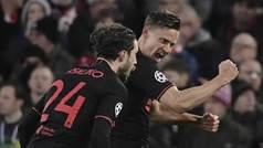 Champions League (octavos, vuelta): Resumen y goles del Liverpool 2-3 Atlético