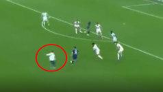 Un aficionado saltó al campo en busca de Messi y cortó una jugada de ataque del PSG