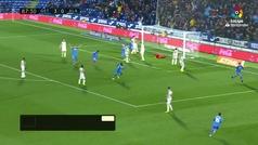 Gol de Jaime Mata (4-0) en el Getafe 4-0 Alavés