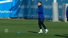 El Barça recupera fuerzas para verse las caras con el Inter en Milán