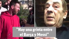 """¿El Inter a por Messi?: """"Hay una grieta abierta como la hubo con Maradona"""""""