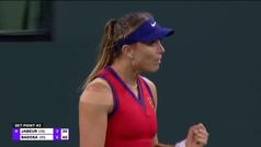 Paula Badosa pasa a la final de la Indian Wells tras derrotar a Jabeur