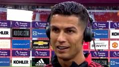 """Cristiano, tras su doblete: """"Estoy aquí para poner al club donde se merece"""""""