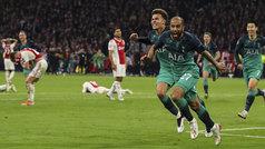 Champions League (semis, vuelta): Resumen y goles del Ajax 2-3 Tottenham