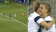 La 'cara de Dios': con este gol en el minuto 95 clasifica a Finlandia a la Eurocopa femenina