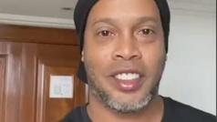 """Ni Ronaldinho se libra del coronavirus: """"Di positivo"""""""