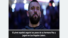 Marc Gasol ficha por los Lakers