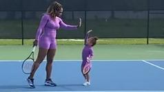 Serena Williams y su famosa hija Alexis Olympia se mimetizan