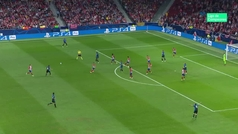Gol de Groeneveld (1-1) en el Atlético 3-1 Brujas