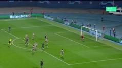 Gol de Ivanusec (2-1) en el Dinamo Zagreb 3-3 Shakhtar