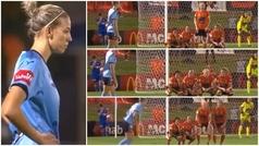 MX: La surrealista barrera que sorprende al fútbol femenino australiano: ¡Qué forma de despistar!