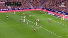MX: Gol de Marcos Llorente (1-0) en el Atlético de Madrid 2-0 Betis