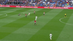 Gol de Benzema (3-0) en el Real Madrid 3-0 Athletic