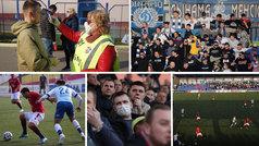 Ni el coronavirus para el fútbol... ¡en Bielorrusia!