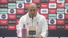 """Zidane: """"Se dice que me juego mi futuro... pero si dijo también hace un año"""""""
