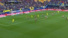 Gol de Ekambi (1-1) en el Villarreal 1-1 Athletic