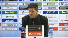 """Simeone: """"Fue el mejor partido de la Liga, el mejor fue el de la Supercopa"""""""
