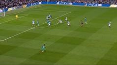 Gol de Son (1-1) en el Manchester City 4-3 Tottenham