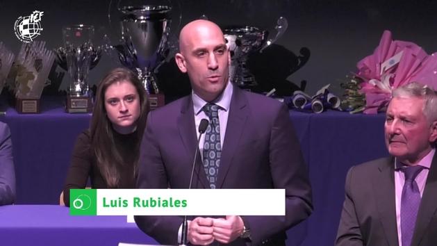 """Rubiales: """"Si a Luis Enrique le va bien, todos seremos felices"""""""