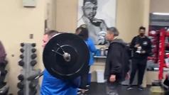 ¡Nada que ver con el Andy Ruiz de antes! Así se macha en el gimnasio junto al 'Canelo Team'