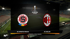 Europa League (J6): Resumen y gol del Sparta Praga 0-1 AC Milan