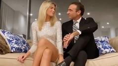 Enrique Ponce y Ana Soria se cambian de ropa ante la cámara y presentan su nuevo ático de lujo