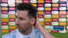 """Messi, tras el empate ante Chile: """"Queríamos empezar ganando"""""""