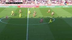 Gol de Chukwueze (0-1) en el Girona 0-1 Villarreal