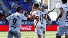Gol de Alex Gallar (0-2) en el Eibar 1-2 Huesca