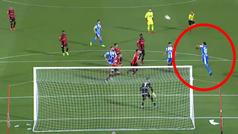 El fallo de Pablo Marí en el minuto 94 que pudo salvar al Deportivo... ¡remató completamente solo!