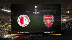 Europa League (1/4, vuelta): Resumen y goles del Slavia Praga 0-4 Arsenal