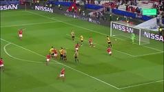 Gol de Grimaldo (1-0) en el Benfica 1-0 AEK