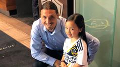 Una niña de siete años canta el himno de Estados Unidos y sorprende a Ibrahimovic