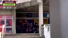 Así entraron los mossos a las oficinas del Camp Nou