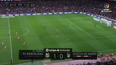 Gol de Oro (J31): Gol de Messi (2-0) en el Barcelona 2-0 Atlético