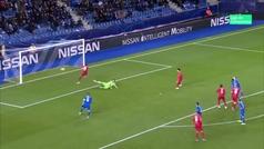 Gol de Daka (0-1) en el Genk 1-4 RB Salzburgo