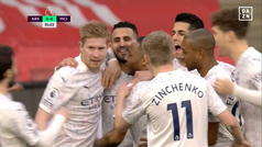 Premier League (J25): Resumen y gol del Arsenal 0-1 Manchester City