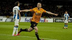 Europa League (1/16, ida): Resumen y goles del Wolverhampton 4-0 Espanyol