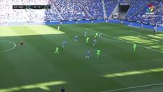 Gol de oro: Gol de Sergio García (1-0) en el Espanyol 1-0 Levante