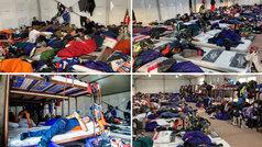 Literas, sacos, colchonetas... ¡así duermen cientos de pilotos en el campamento Dakar!