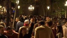 Desalojan a más de 7.000 personas en Barcelona en la primera noche de viernes sin estado de alarma