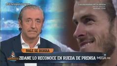 """Pedrerol entona el mea culpa: """"Lo siento, Zidane... Me equivoqué"""""""
