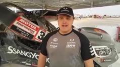 Oscar Fuertes habla del Dakar mas druo