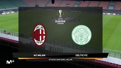 Europa League (J5): Resumen y goles del Milan 4-2 Celtic