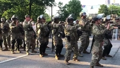El ejército de Estados Unidos da el toque de queda al ritmo de Macarena